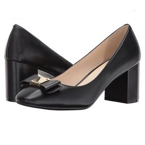 Cole Haan Leather Tali Bow Pumps